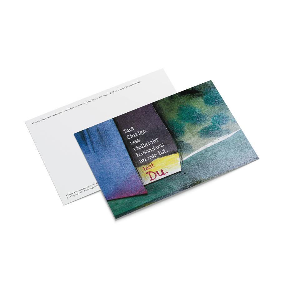 Postkarte Bell