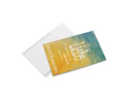 Postkarte Huch