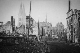 Ausradierte Innenstadt: Halberstadt