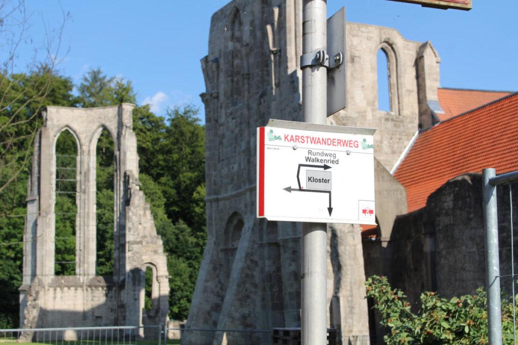 Karstwanderweg, Kloster Walkenried
