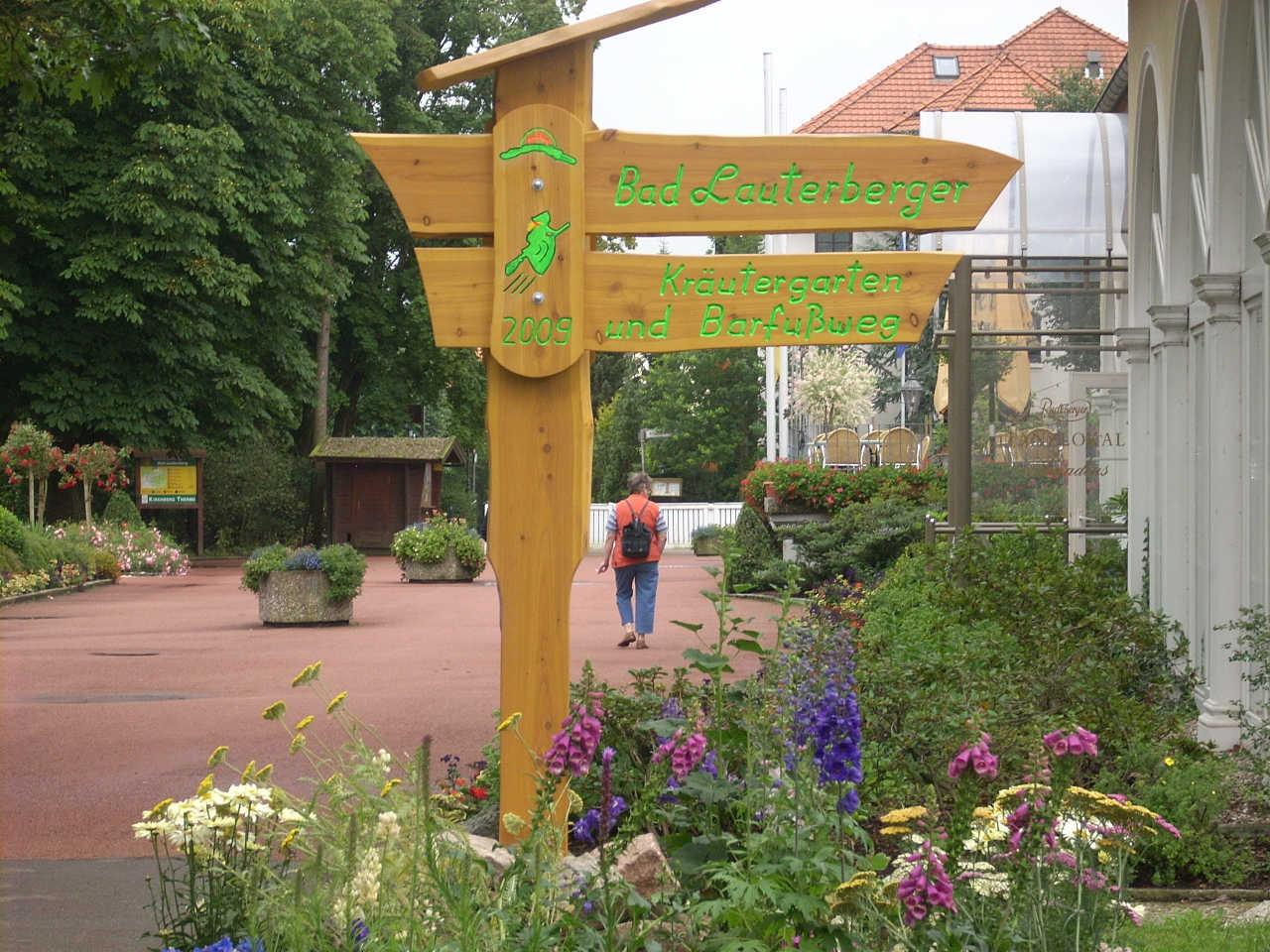 Kräutergarten Bad Lauterberg
