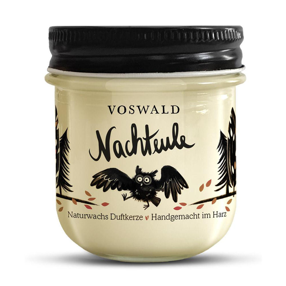 Voswald Duftkerze Nachteule