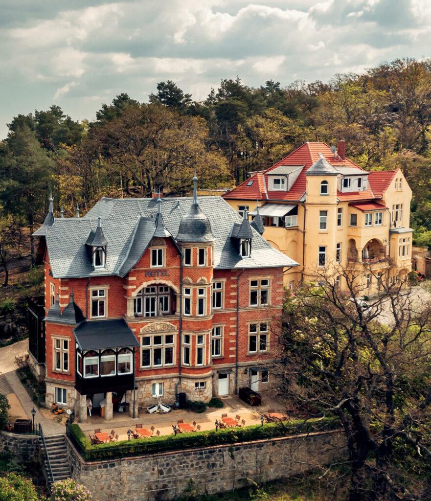 Villa Viktoria Luise, Hasselfelder Straße 8, Blankenburg
