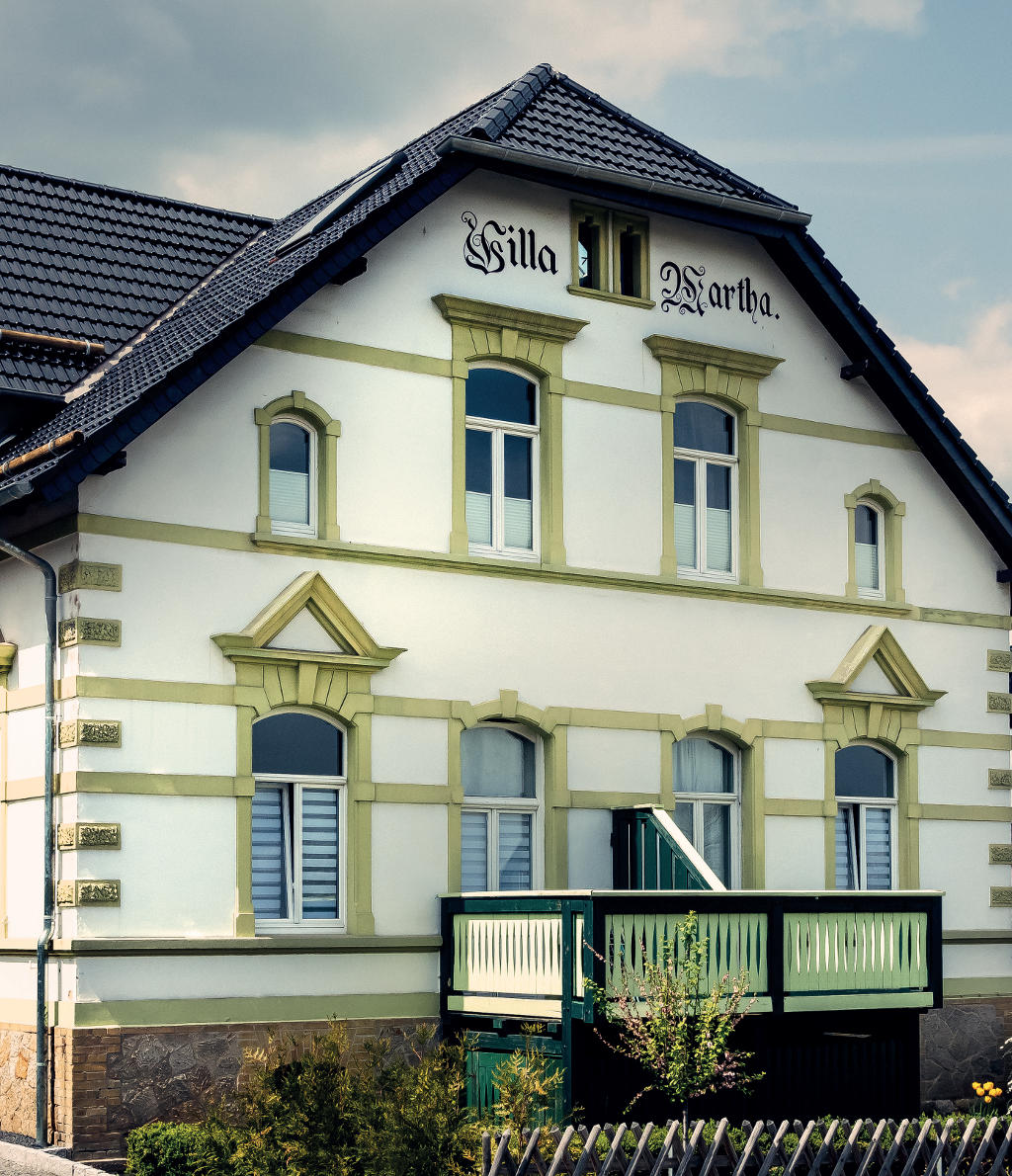 Villa Martha im Heinrichsweg 5, Blankenburg